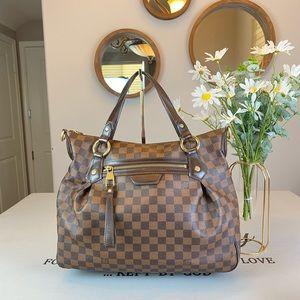 Louis Vuitton Damier Ebene Shoulder Bag Satchel